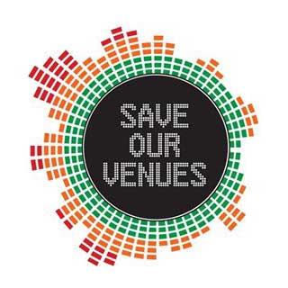 save our venues - Logo - Music Venue Trust