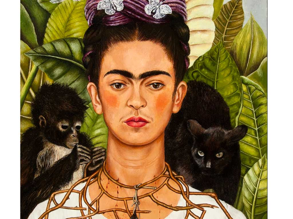 Frida Kahlo Portrait Painting