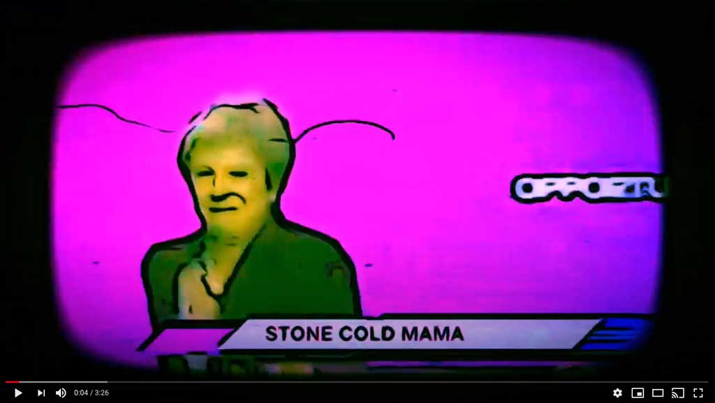 The Leon Daye Band - Stone Cold Mama - single Review