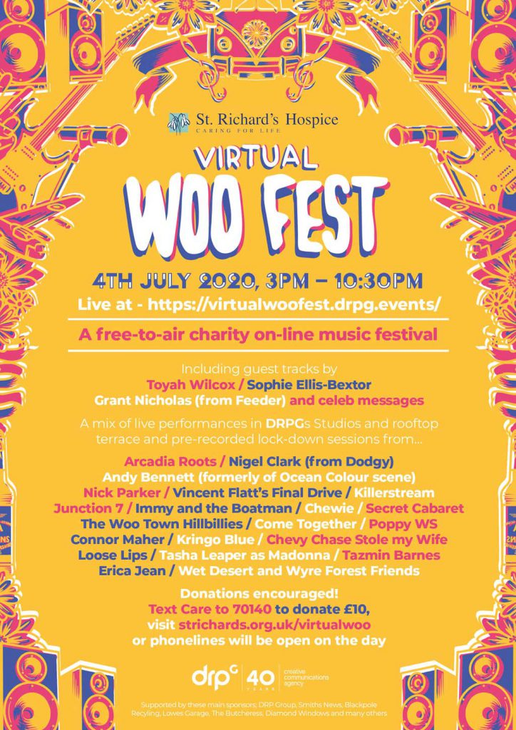 Woo Fest 2020 event poster