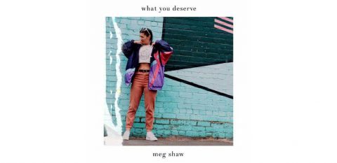 CD cover of What You Deserve by Meg Shaw