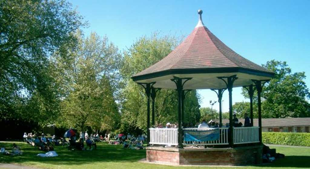 Photo of a Bandstand