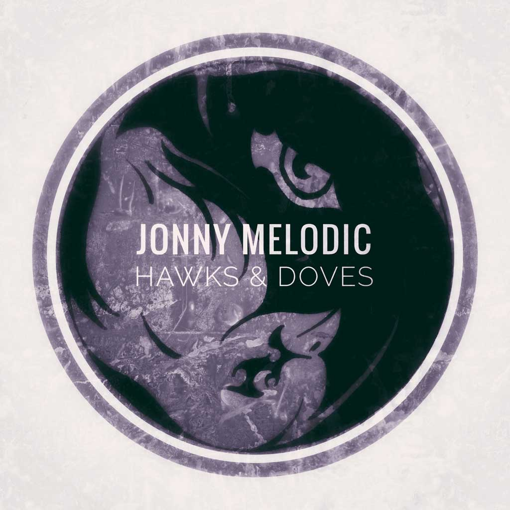 CD cover for Jonny Melodic Hawks and Doves