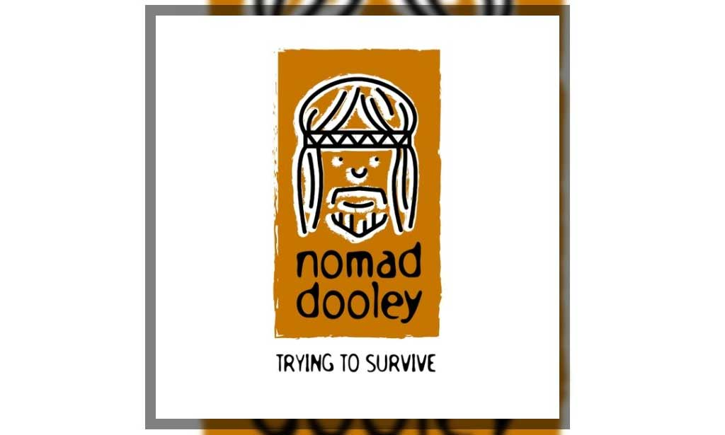 CD cover for Nomad Dooley, Trying to Survive