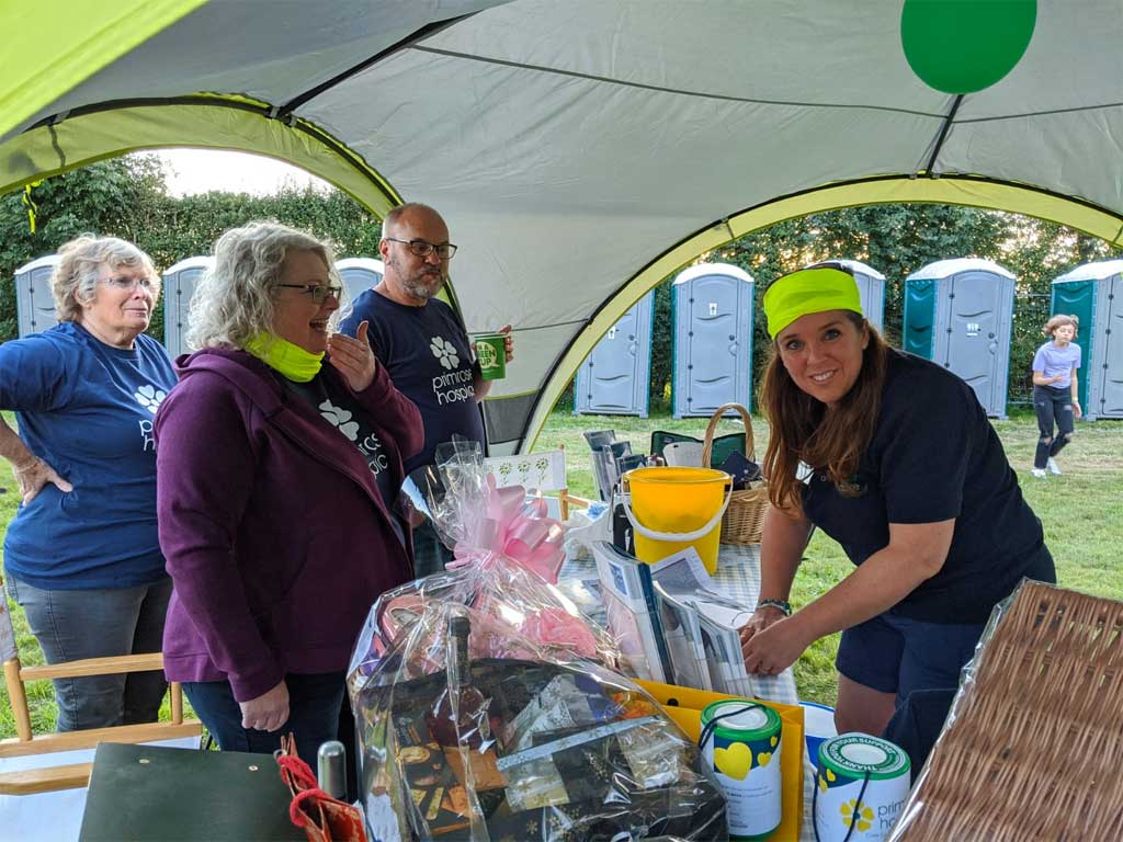 Photo of Stall at Primrose Hospice festival 2020
