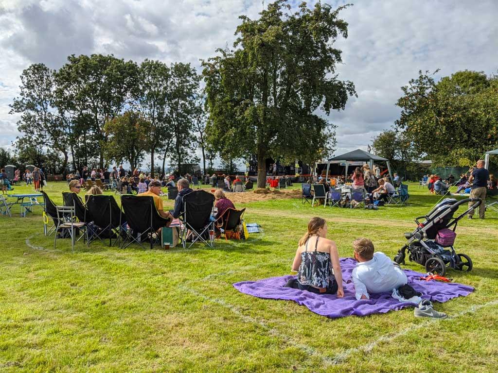 A picture od Primrose Hospice festival 2020