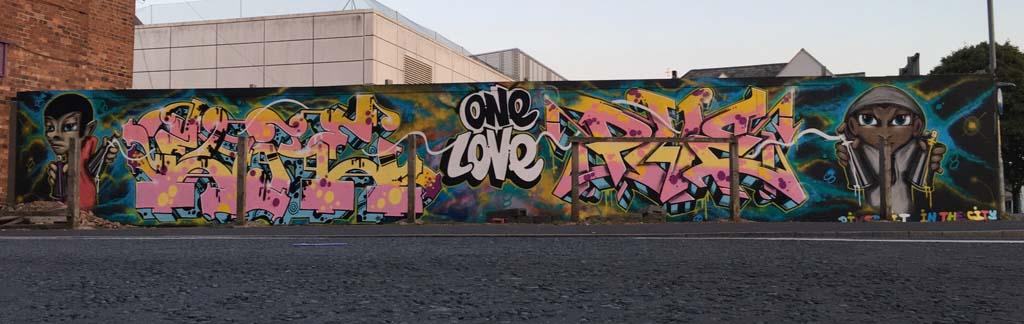 Graffiti for Worcester Paint Festival