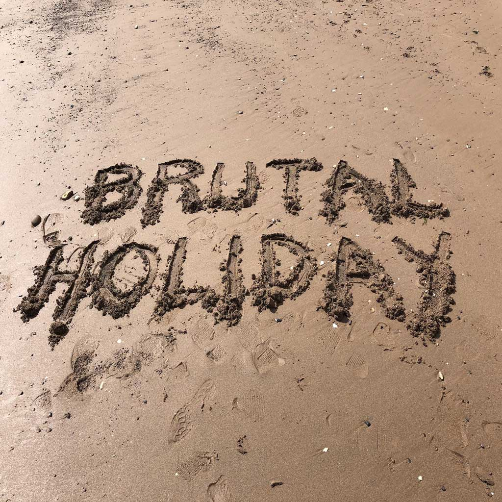 Single Cover of Brutal Holiday by Hey You Guys!