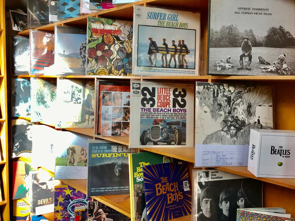 Photo of Records at Carnival Records, Malvern