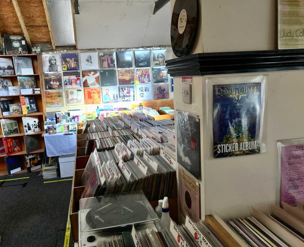 Records at Carnival Records, Malvern