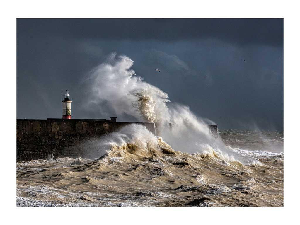 195 Stormy Seas