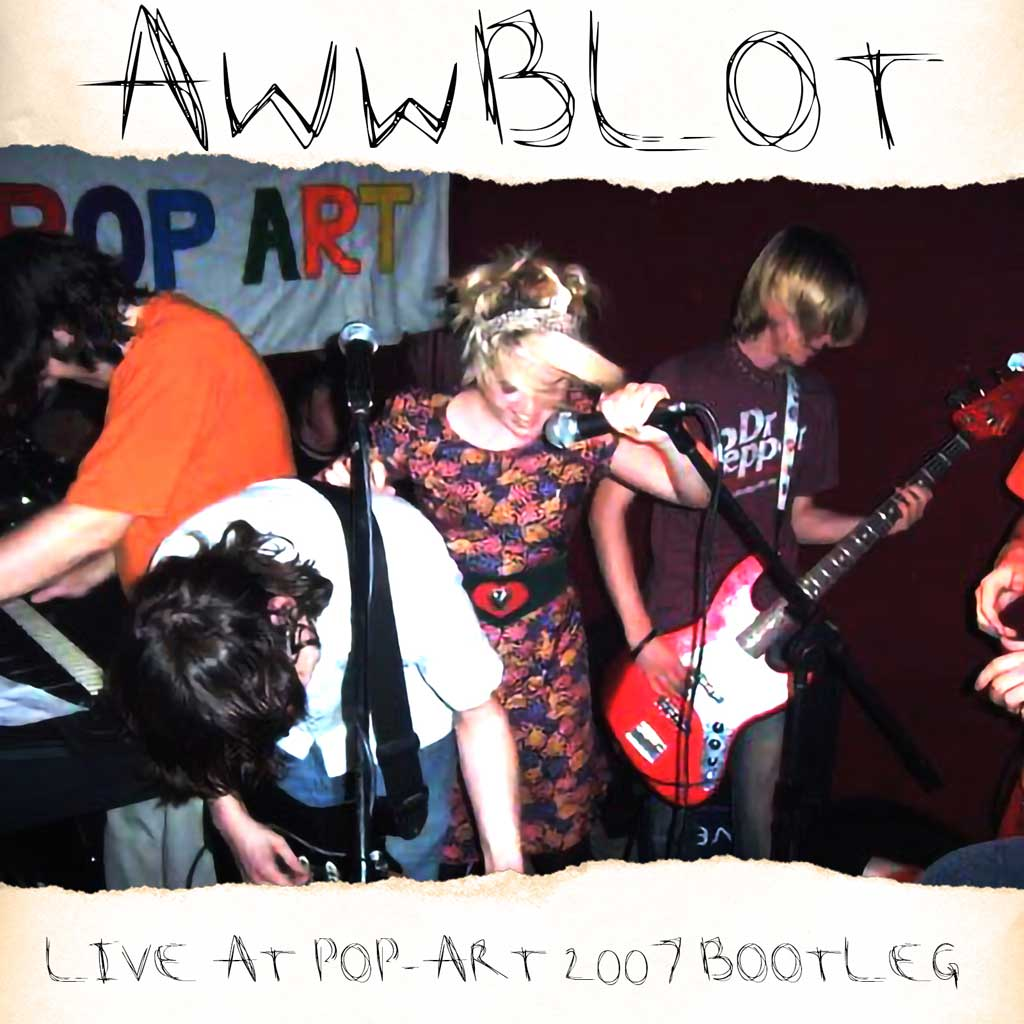 CD Cover for And What Will Be Left Of Them - Live At Pop-Art 2007 Bootleg