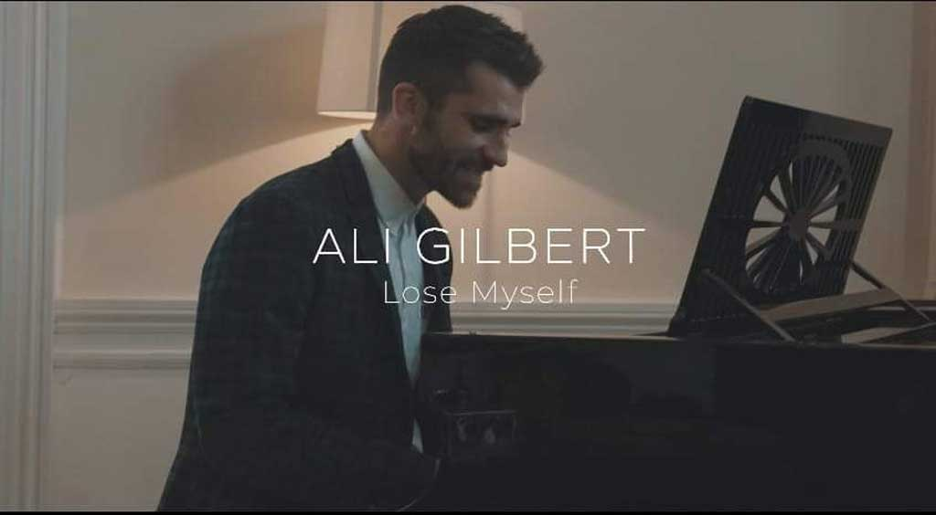 Photo of Ali Gilbert for Lose Myself single cover