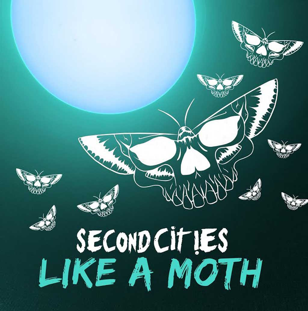Single Cover for Second Cities Like A Moth