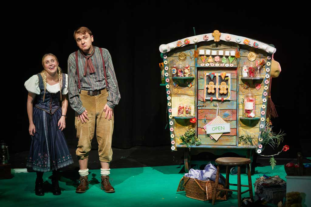 Photo of Hansel and Gretel at the Courtyard Theatre, Hereford