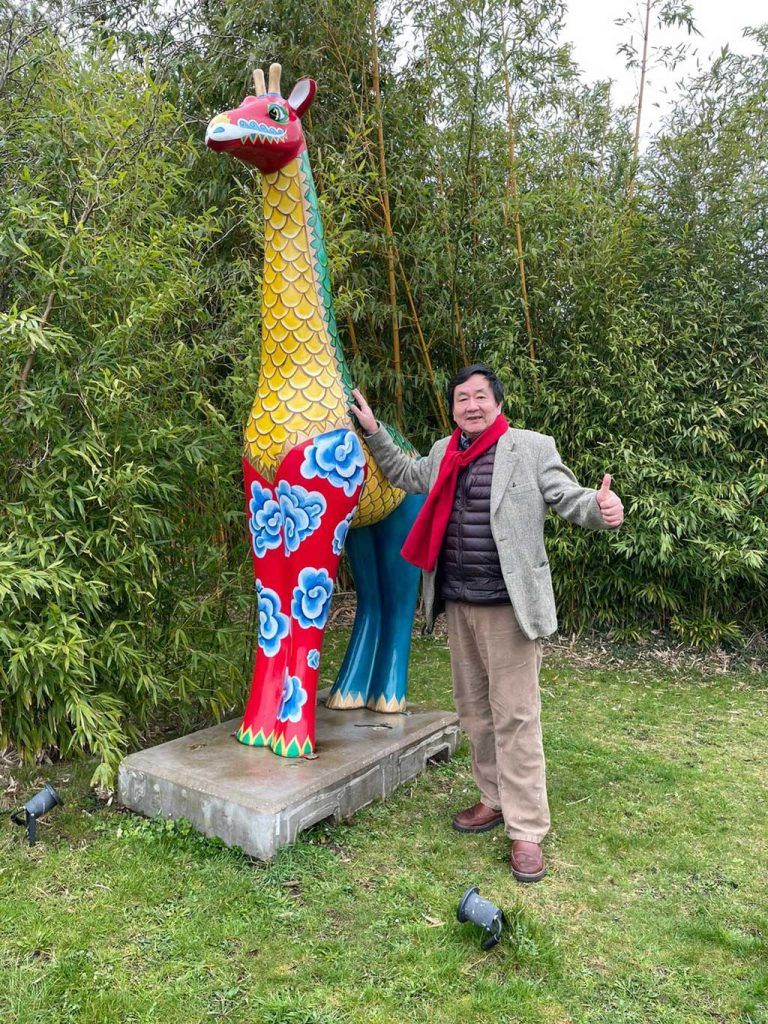 Photo of Frankie Tsang, Chairman of Worcestershire Chinese Association