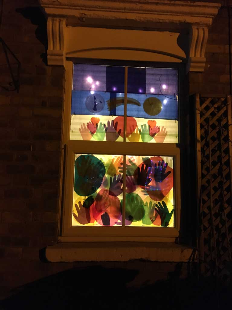 Image of window display from love the arbo 2021