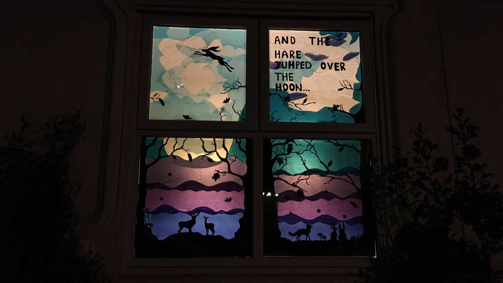 Image of window display for Love the Arbo 2021