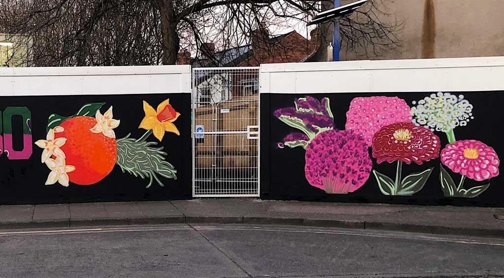 Mural artwork by Estee Angeline