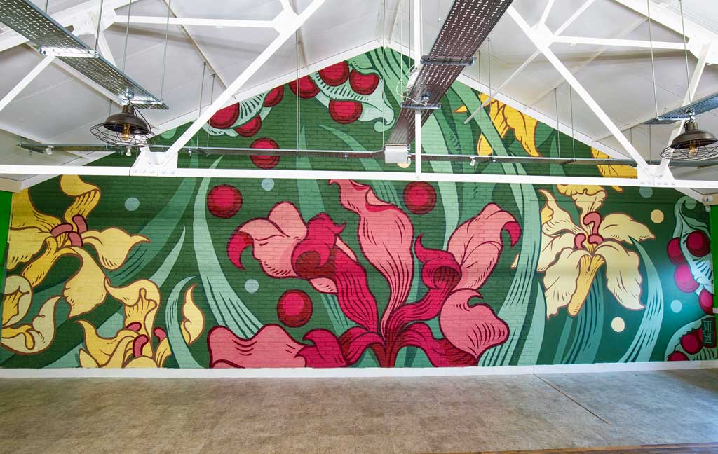 Photo of Mural by Phill Blake
