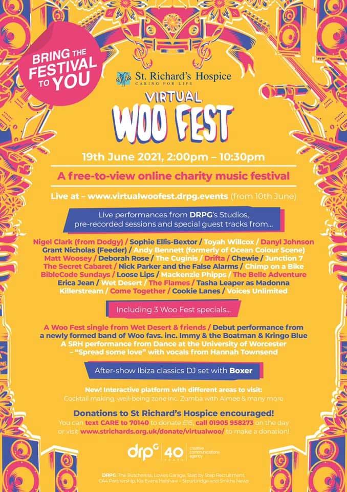 Woo Fest 2021 line up poster