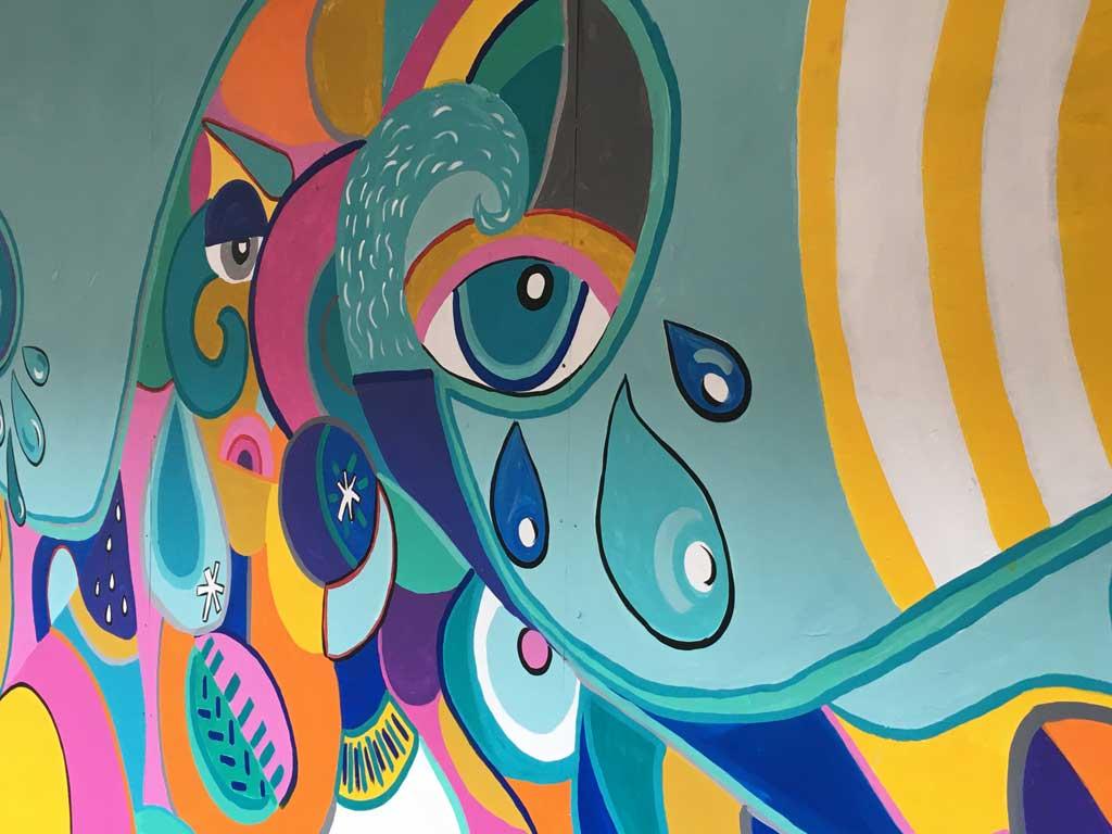 Photo of Chroma Chameleons new mural