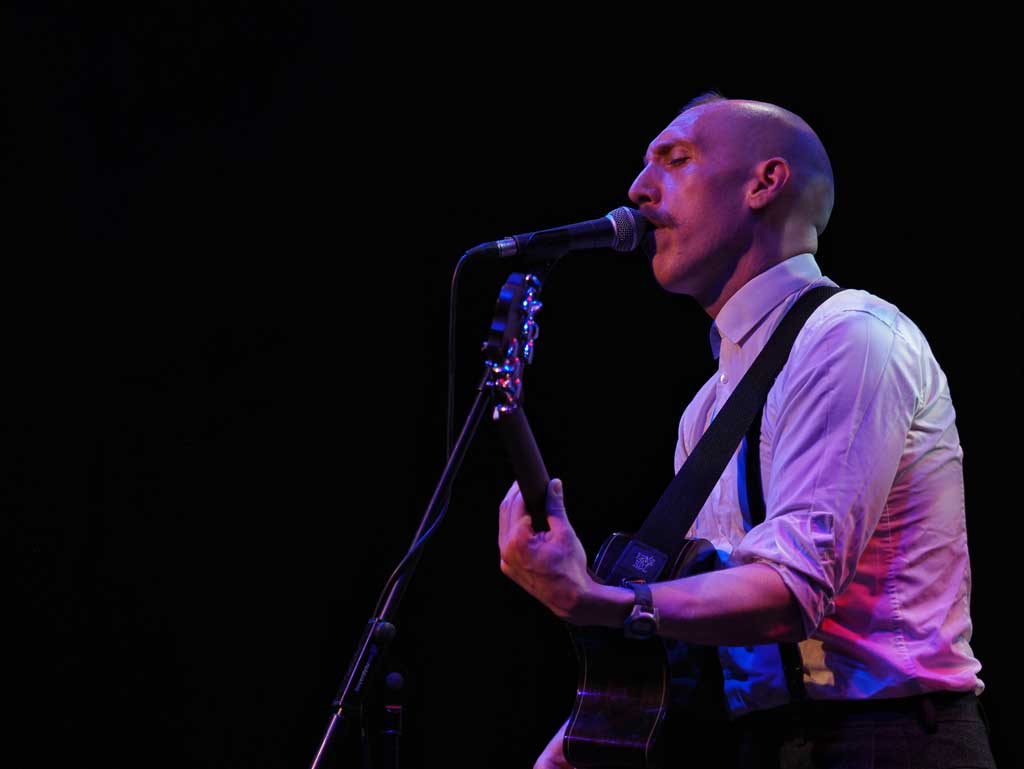 Photo of Jamie Lenman at Gloucester Guildhall