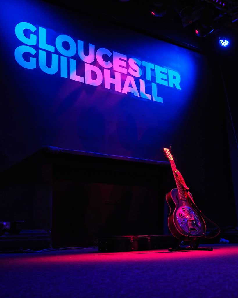 Photo of Gloucester Guildhall Stage