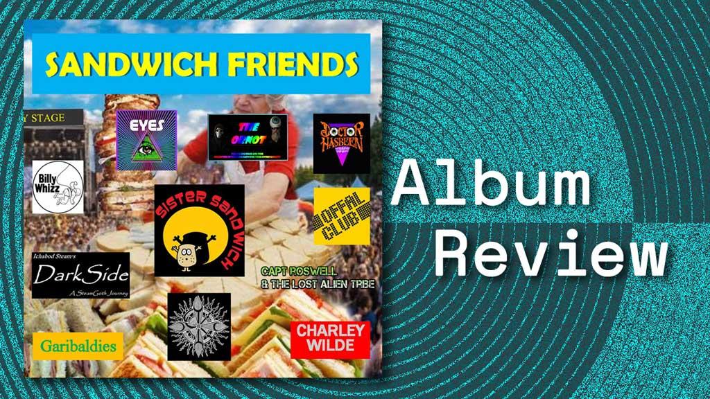 Album cover for Sister Sandwich Friends