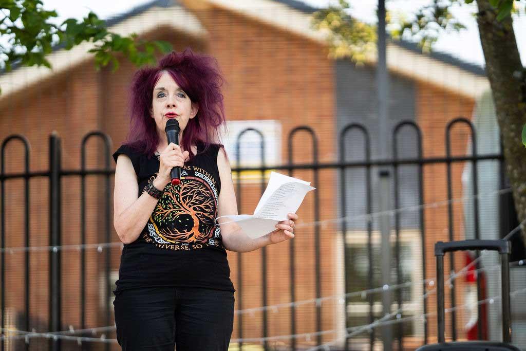 Photo of Worcester Poet Laureate Suz Winspear