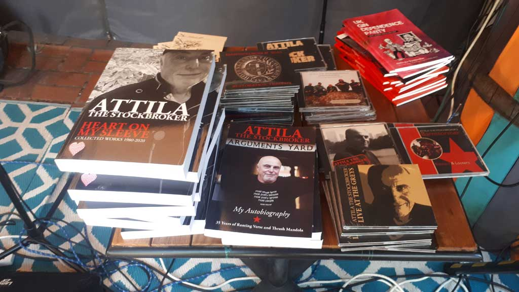 Photo of books-by Attila the Stockbroker