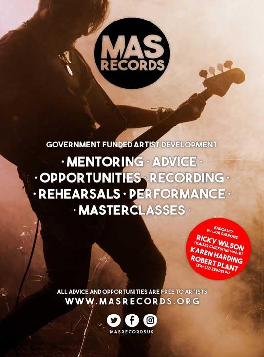 MAS Records Poster
