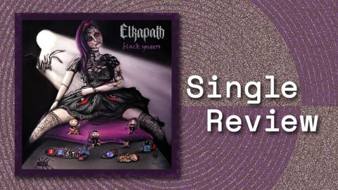 Single cover for Black Spiders by Elkapath