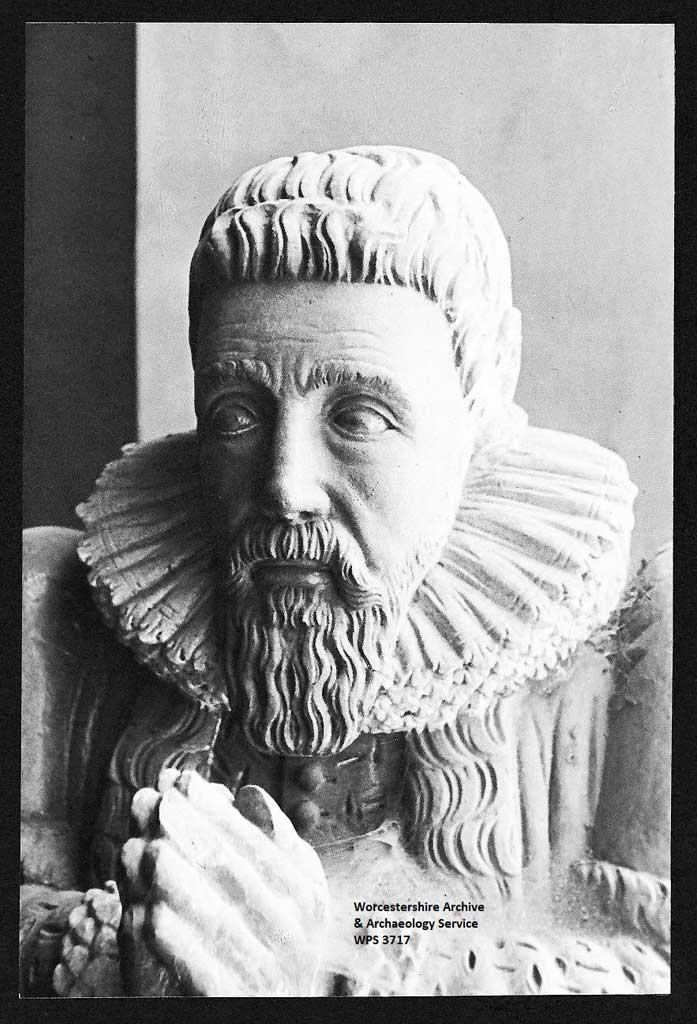 Statue of First Mayor of Worcester William Hurdman