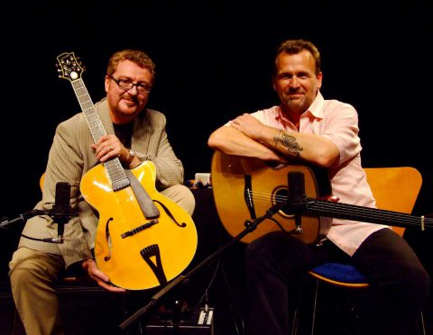 Photo of Martin Taylor & Martin Simpson