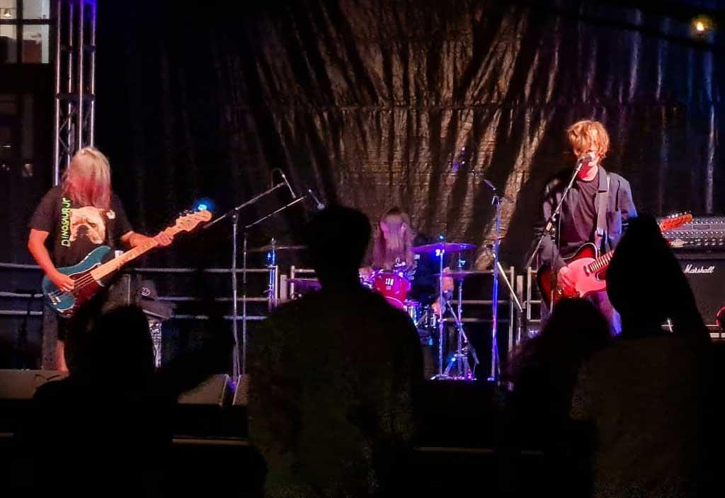 Photo of band