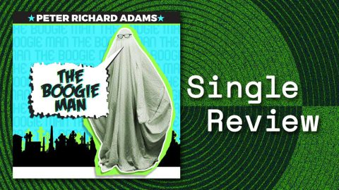 Single cover for Peter Richard Adams The Boogie Man